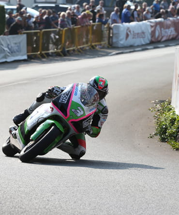 James Hillier 2016 Isle of Man TT Lightweight TT sponsored by Bennetts