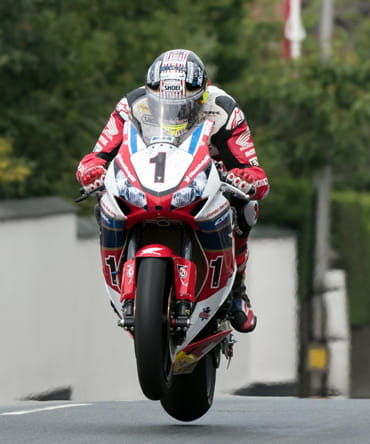 John McGuinness 2016 Isle of Man TT Senior Race