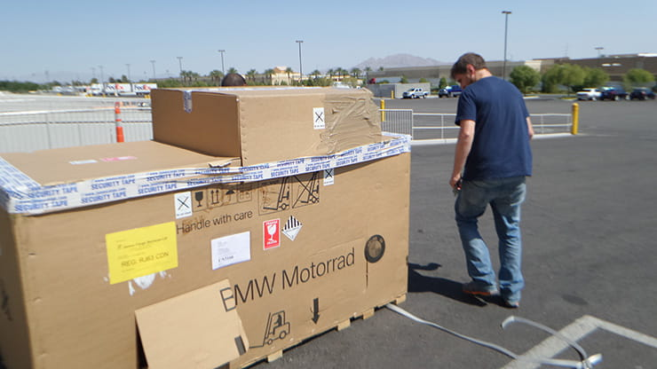 How do you ship a motorcycle to the USA United states of America Motorcycle tours america