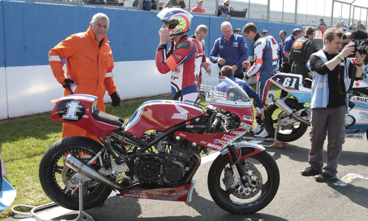 Team Neate the winners of the 2017 Endurance Legends Event at Donington