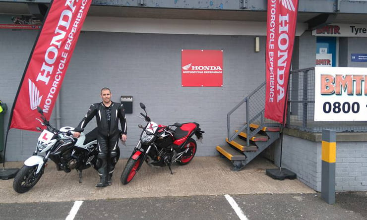 Simon Hancocks learns to ride with the Honda School of Motorcycling