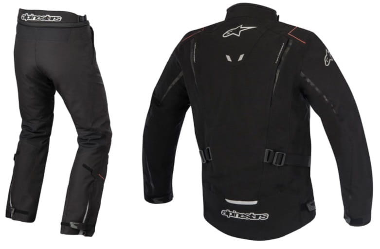 Alpinestars Yokohama Drystar Suit Back View