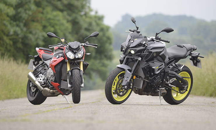Fighting for the crown: Yamaha MT-10 meets BMW S1000R