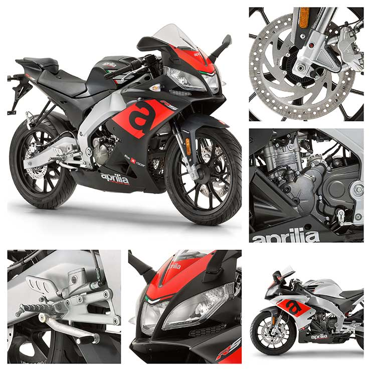 2017 Aprilia RS125 Badan Germany
