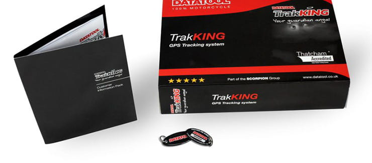 Datatool Track King motorcycle tracking system