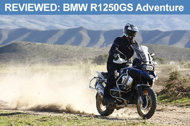 BMW R1250GS Adventure review