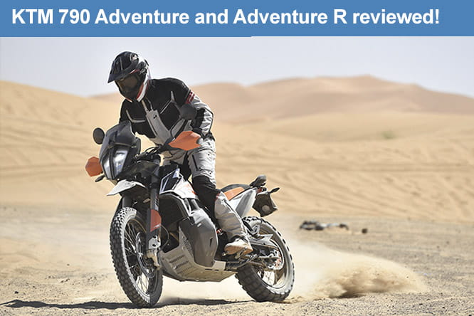 Review of the 2019 KTM 790 Adventure and Adventure R