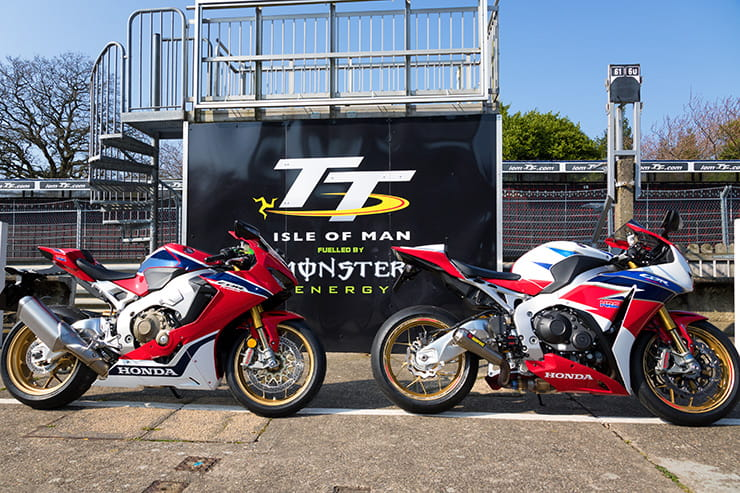 Will the Honda Fireblade be delivering Guy Martin or John McGuinness to the TT podium in 2017?
