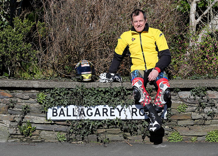 John McGuinness at Ballagarey