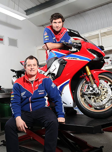 John McGuinness and Guy Martin