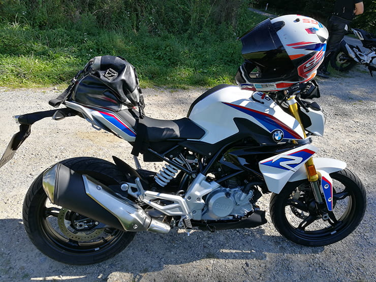 On the road with the BMW G310R