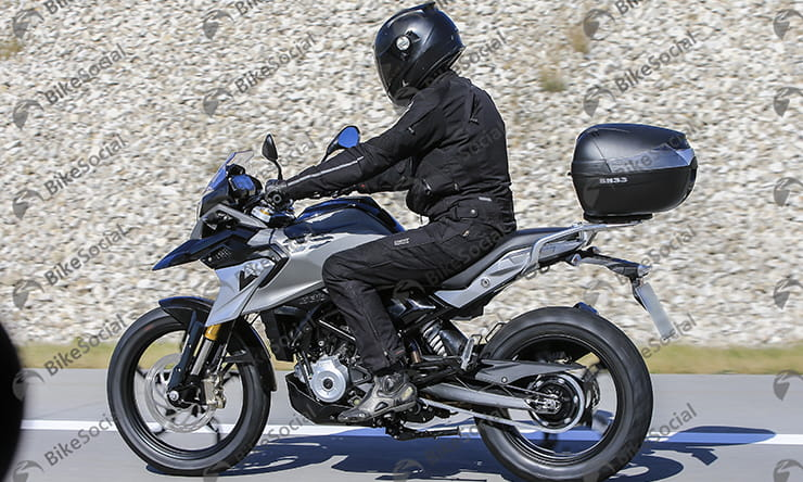 BMW G310 GS spotted in testing ready for 2017
