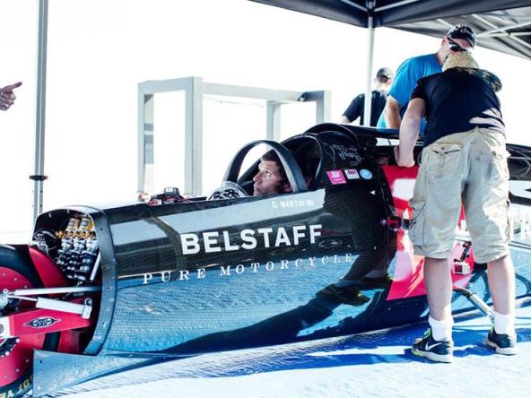 Guy settles into his 274.2mph home