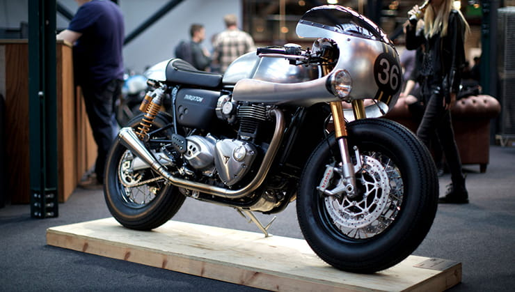 Barbour and Triumph commissioned this special build Thruxton R