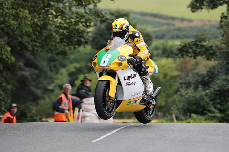 Ian Lougher romped to the fastest Lightweight lap