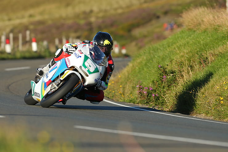 Bruce Anstey on the Valvoline by Padgett