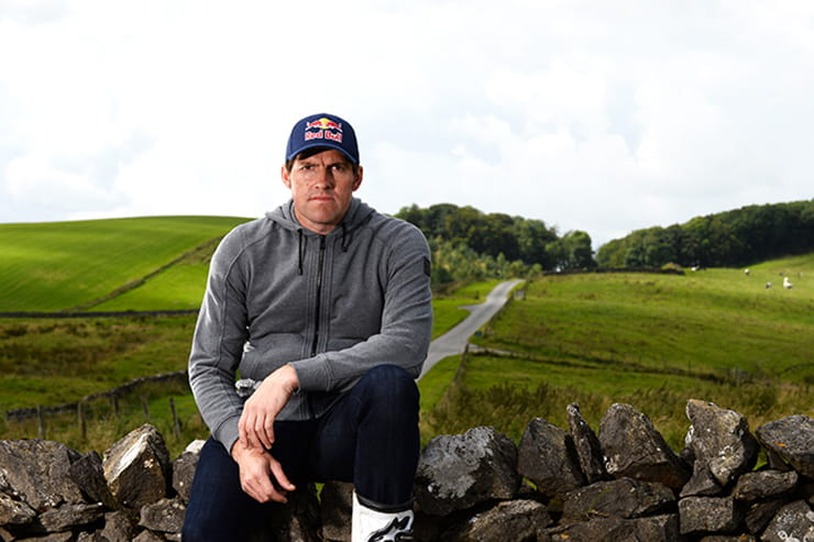 Red Bull sponsored athlete set to take on the TT course on his back wheel