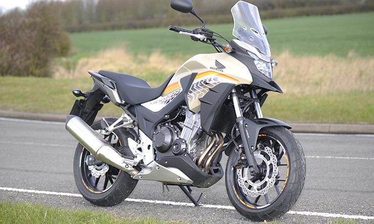 Winter Road Test Honda Cb500x