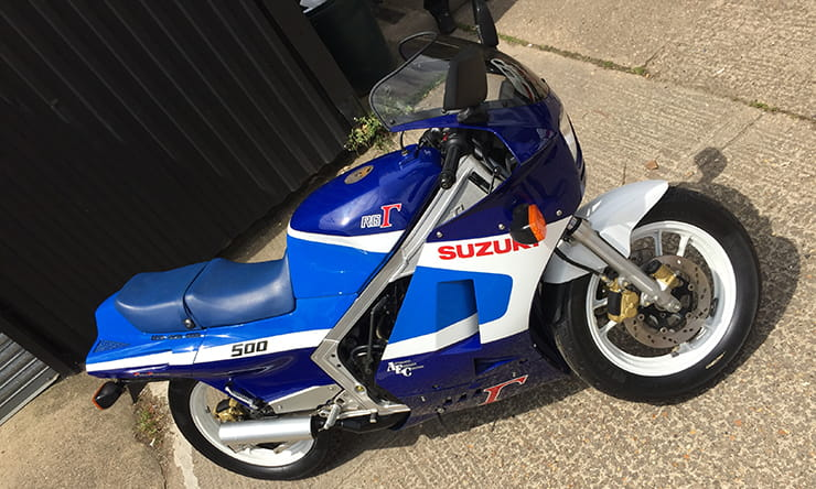 Suzuki RG500 with 1 mile: Sad or sweet?