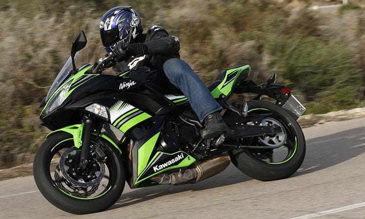 kawasaki ninja 650 2017 first ride and review. Black Bedroom Furniture Sets. Home Design Ideas