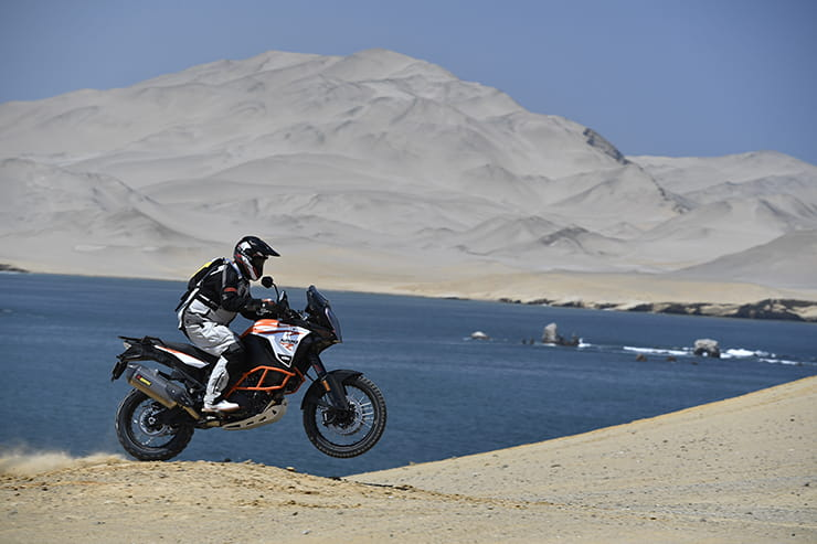 BikeSocial rides the new 2017 KTM 1290 Super Adventure R