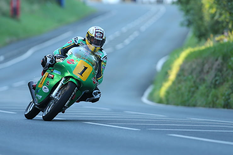 John McGuinness on the Paton