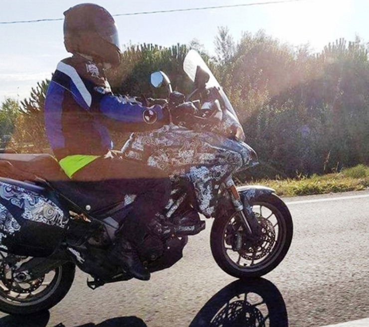 Ducati mini Multistrada spotted