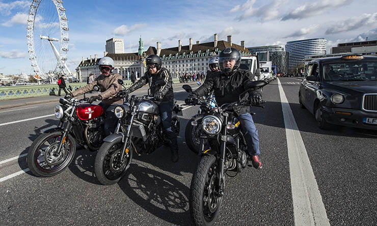 Motorcycles in London