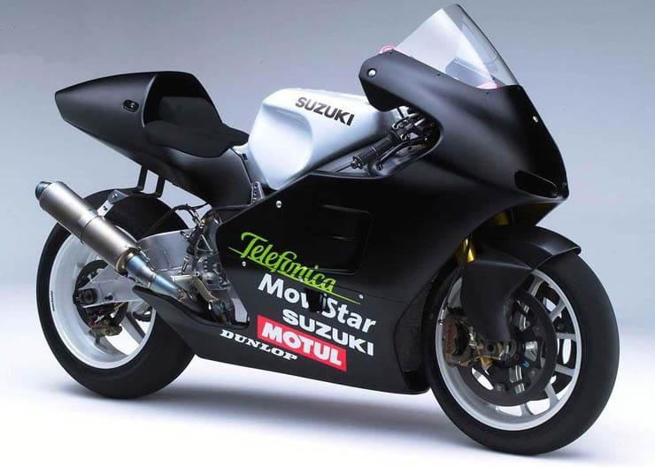 History of Suzuki in MotoGP   Models, liveries, riders & more