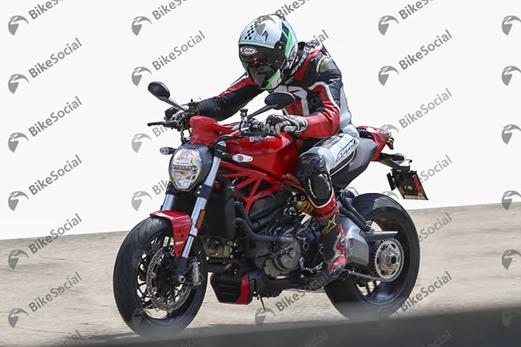 Ducati Monster equipped with the new 937cc engine