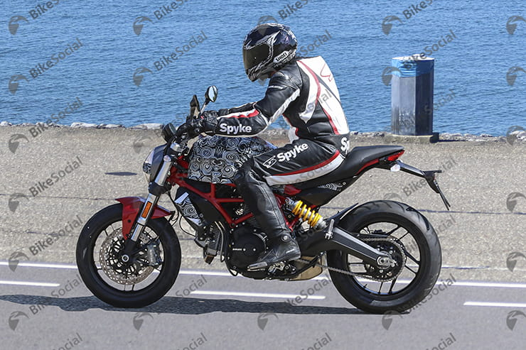 Bennetts Motorbike Insurance >> First Spy Shots of Ducati's Two New Monsters