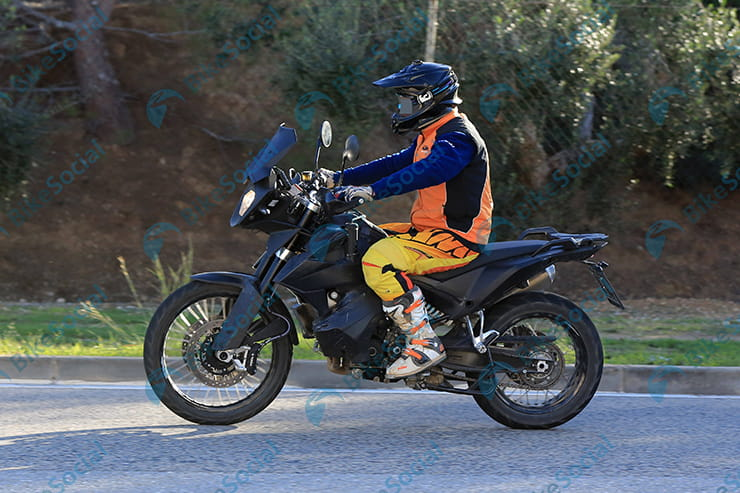 KTM 790 Adventure spotted