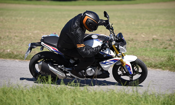 BMW G310R - first ride!