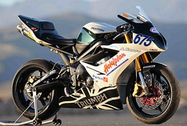 BE1 Triumph Daytona 675