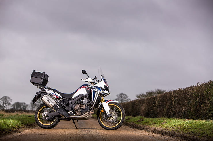 Africa Twin stands proud