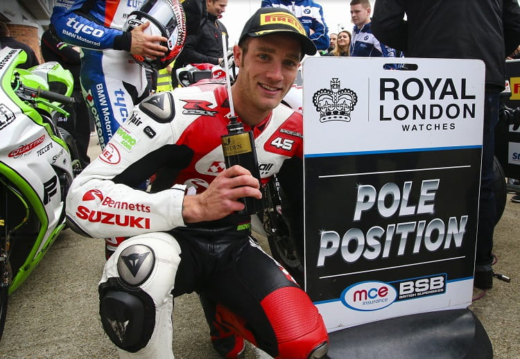 Bridewell final pole position