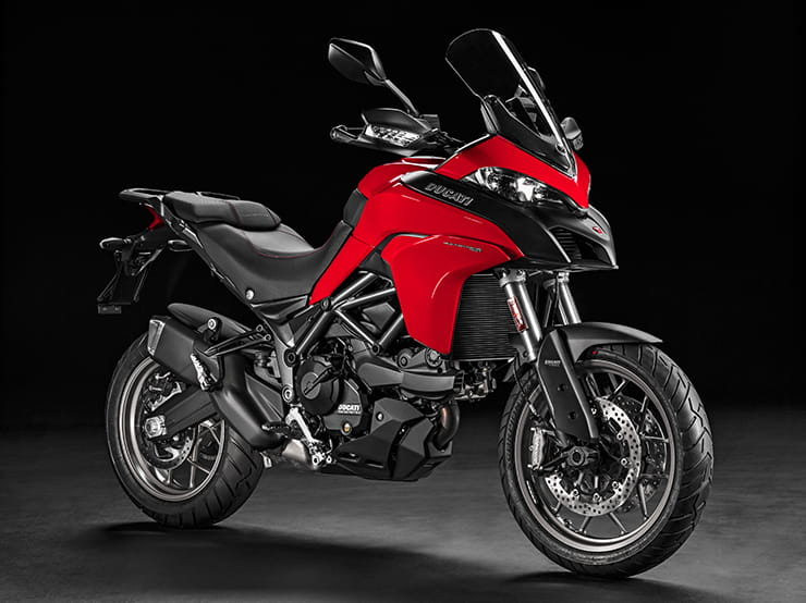 Ducati Multistrada 950 in red, one of two colour options