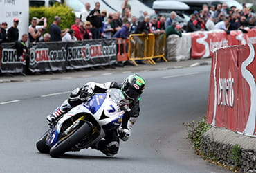 Gary Johnson 2014 Isle of Man TT