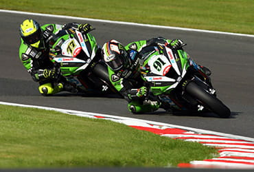 Leon Haslam and James Ellison