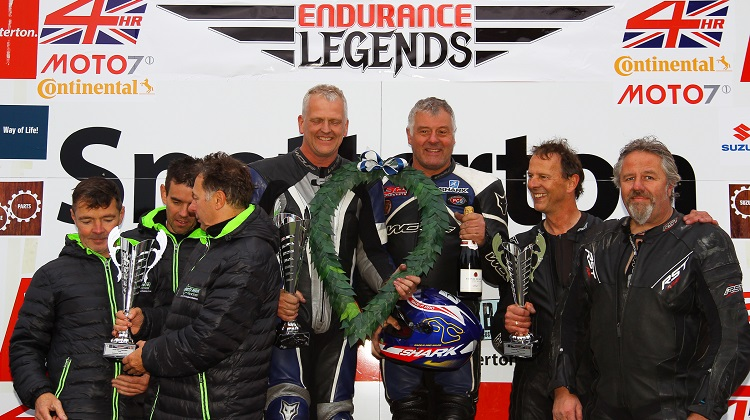 Podium at Endurance Legends