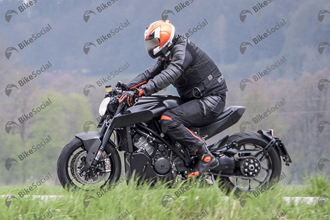Husqvarna spy shot
