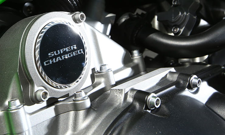 Motorcycle supercharger