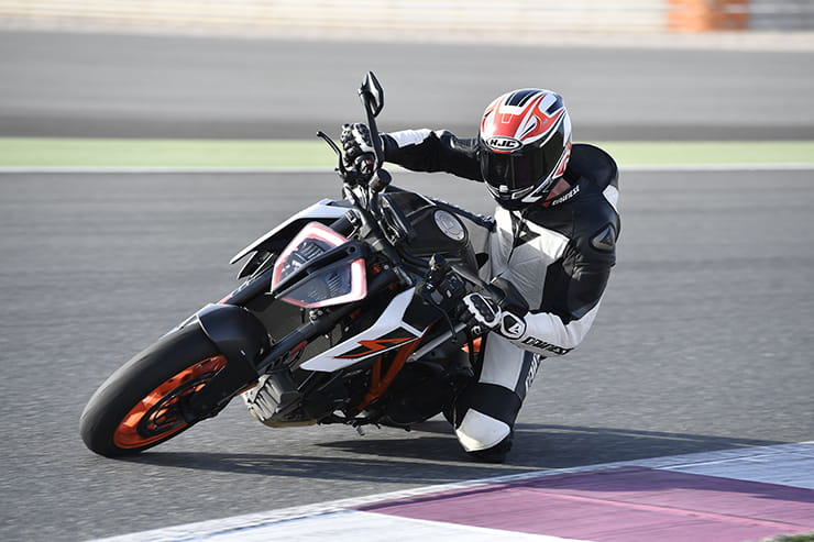 Roland Brown on track in Qatar