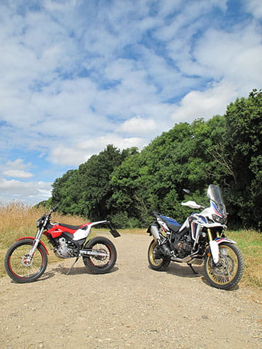 Montesa and Africa Twin