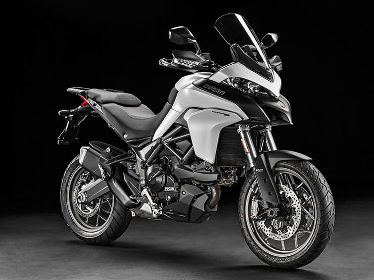 Multistrada 950 available in white or red