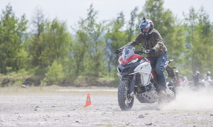 Multistrada Enduro Experience Costs