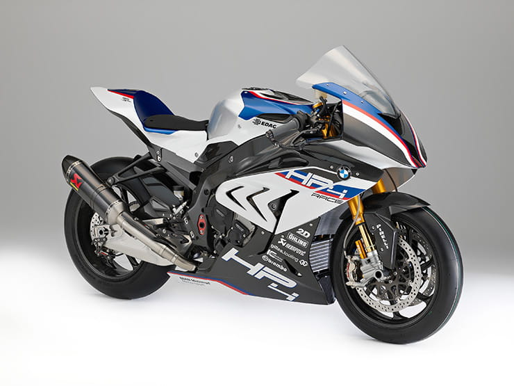 BMW HP4 RACE now production ready