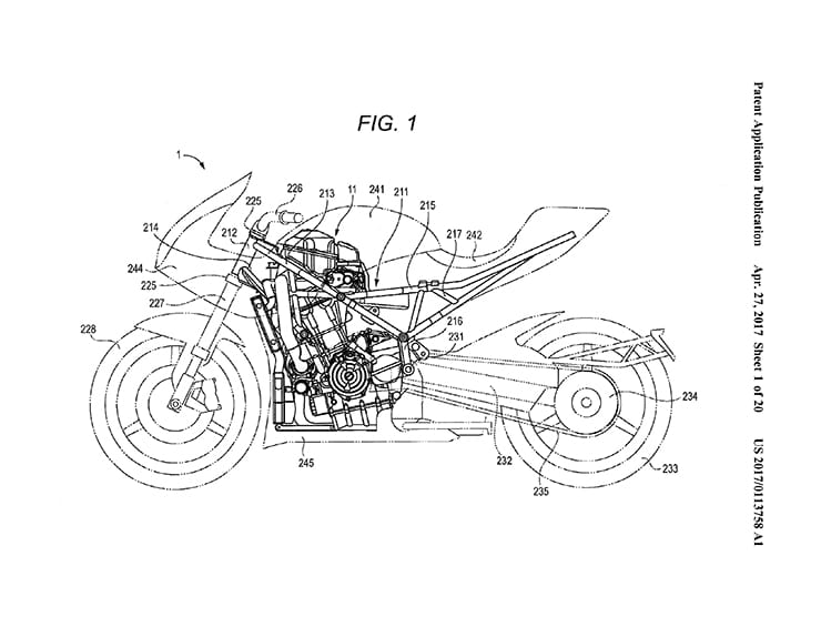 16 new patents filed for the Suzuki Turbo Twin