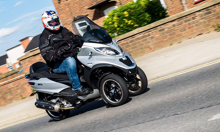 Piaggio MP3 500 Business: Real World Road Test