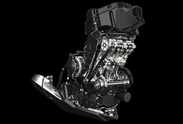Daytona 675 engine